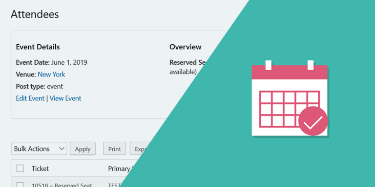 The Events Calendar – Manage Attendees and Tickets on Frontend