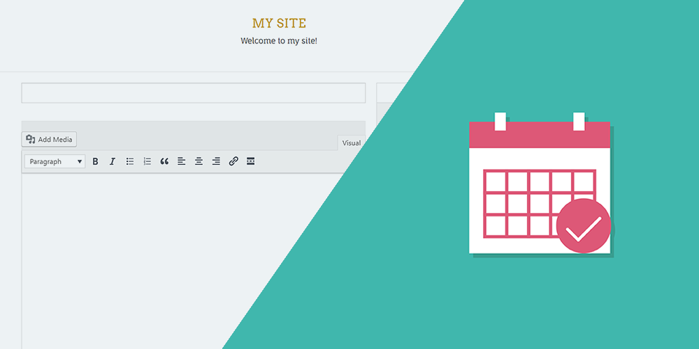 frontend submissions for the events calendar wordpress