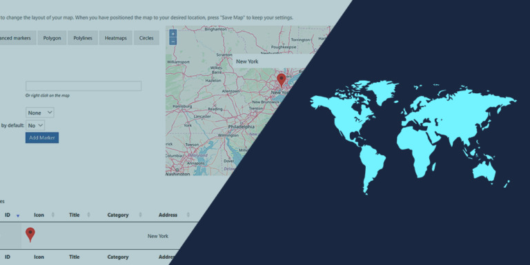 WordPress – Manage WP Google Maps on the Frontend