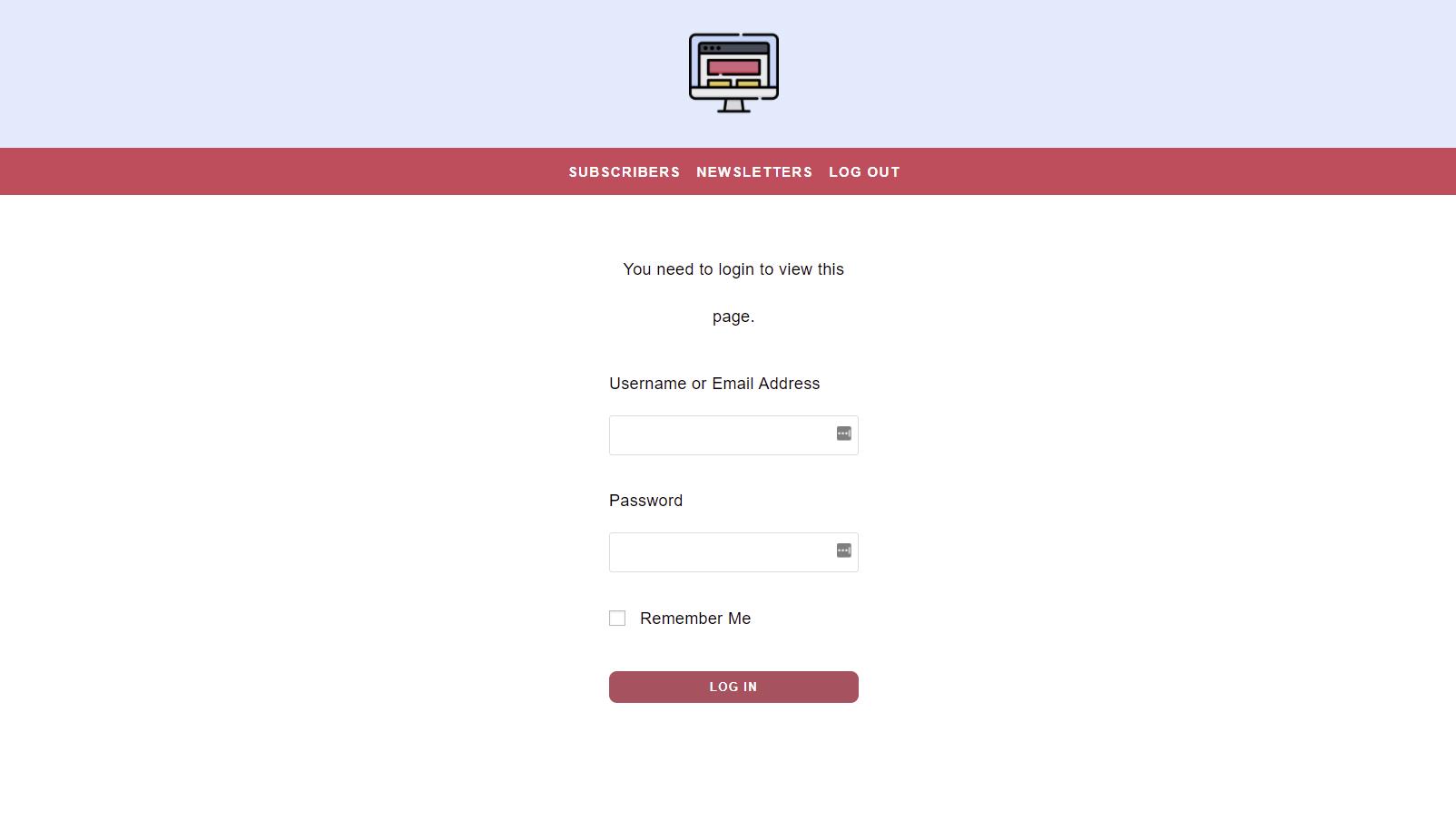 mailpoet frontend dashboard