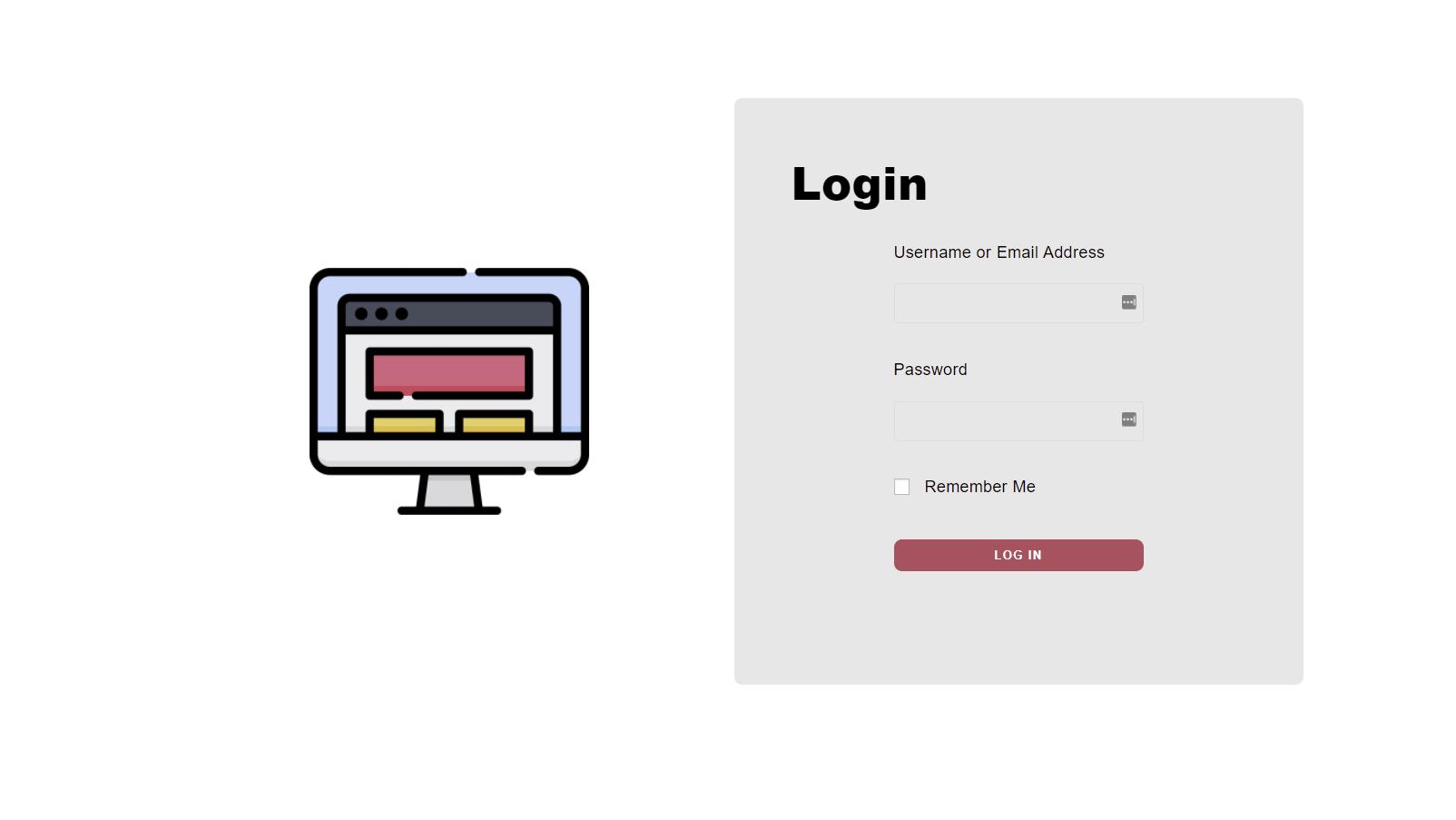mailpoet custom login page