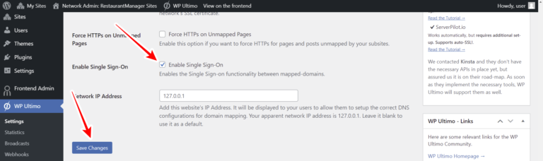 How can I Properly Set Up WP Ultimo's Single Sign-On feature?